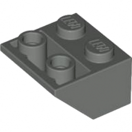 4211000 - ROOF TILE 2X2/45 INV. - Dark Stone Grey