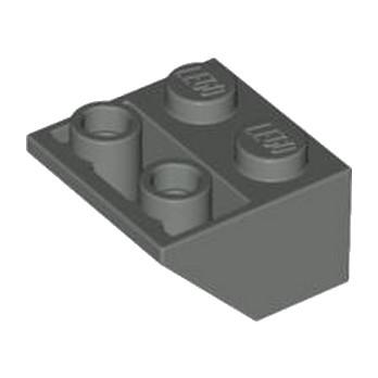 LEGO 4211000 TUILE 2X2/45 INV - DARK STONE GREY