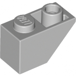 LEGO 4211437 TUILE 1X2 INV. - MEDIUM STONE GREY