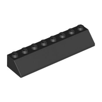 LEGO 4163334 TUILE 2X8/45° - NOIR