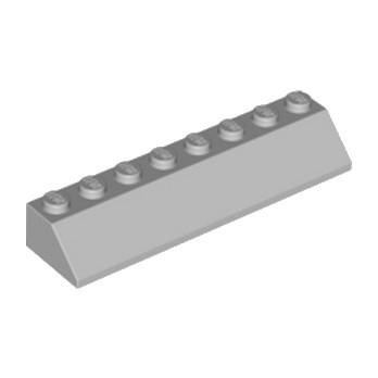 LEGO 4215352 TUILE 2X8/45° - MEDIUM STONE GREY