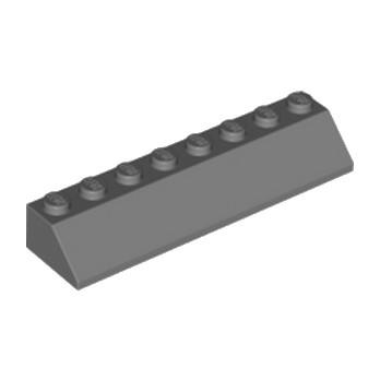LEGO 4210907 TUILE 2X8/45° - DARK STONE GREY