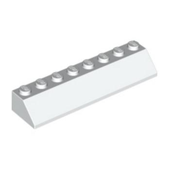 LEGO 4163984 TUILE 2X8/45° - BLANC
