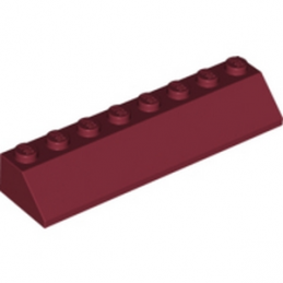 LEGO 4248800 TUILE 2X8/45° - NEW DARK RED