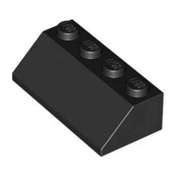 LEGO 303726 TUILE 2X4/45° - NOIR
