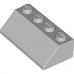 LEGO 4211409 TUILE 2X4/45° - MEDIUM STONE GREY