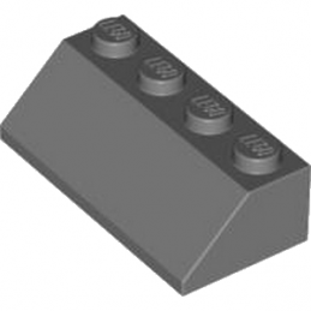 LEGO 4211127 TUILE 2X4/45° - DARK STONE GREY