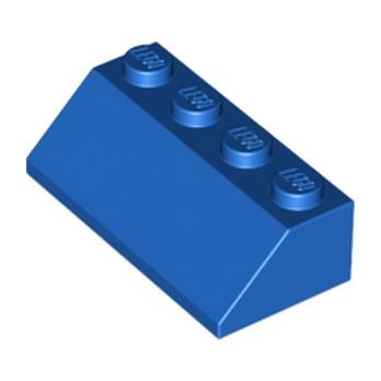 LEGO 303723 TUILE 2X4/45° - BLEU