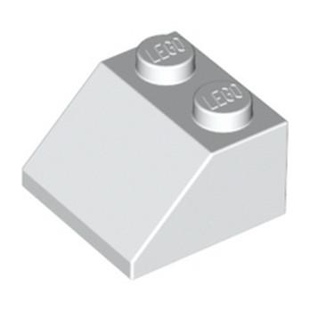 LEGO 303901 TUILE 2X2/45° - BLANC