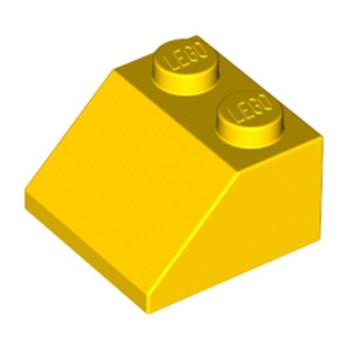 LEGO 303924  TUILE 2X2/45° - JAUNE
