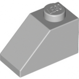 LEGO 4211614 TUILE 1X2/45° - MEDIUM STONE GREY