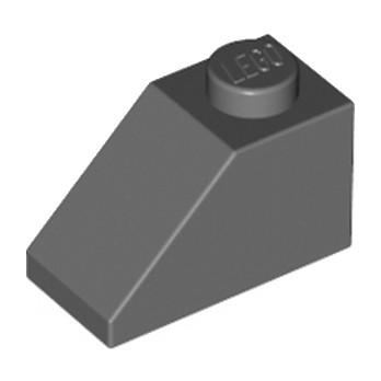 LEGO 4211135 - TUILE 1X2/45° - DARK STONE GREY