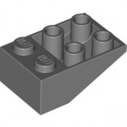 LEGO 4211064 TUILE 2X3/25° INV. -  DARK STONE GREY