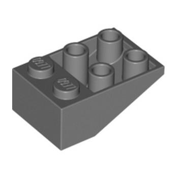 LEGO 4211064 TUILE 2X3/25° INV. -  DARK STONE GREY lego-4211064-tuile-2x325-inv-dark-stone-grey ici :