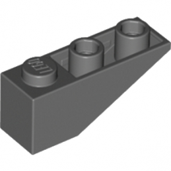 LEGO  4211068  TUILE 1X3/25° INV. - Dark Stone Grey