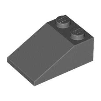 LEGO 4211106 TUILE 2X3/25° - DARK STONE GREY