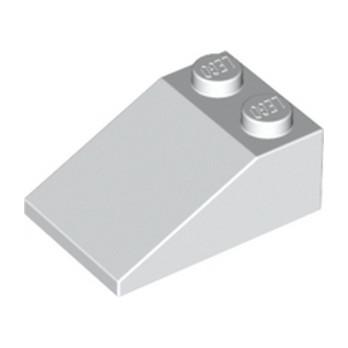 LEGO 329801 TUILE 2X3/25° - BLANC