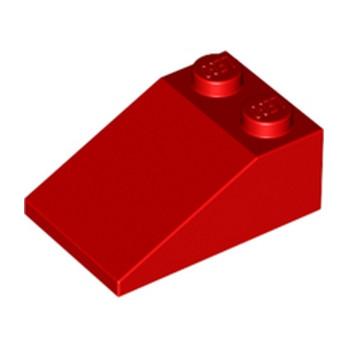 LEGO 329821 TUILE 2X3/25° - ROUGE