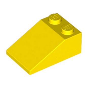LEGO 329824 TUILE 2X3/25° - JAUNE