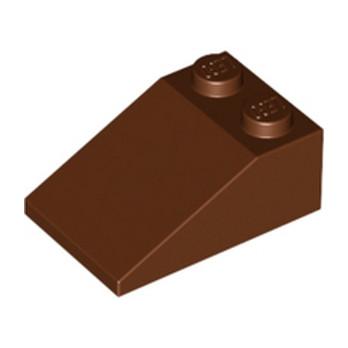 LEGO 4216625 TUILE 2X3/25° - REDDISH BROWN