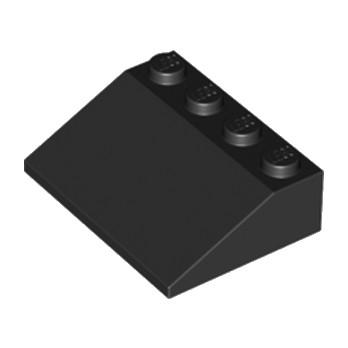 LEGO 329726 ROOF TILE 3X4/25° - NOIR