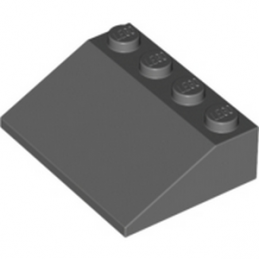 LEGO 4261715 ROOF TILE 3X4/25° - Dark Stone Grey