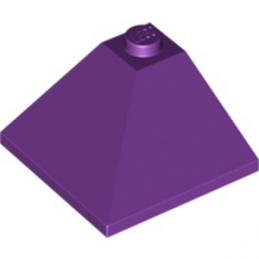 6055877 	CORNER OUTSIDE 3X3/25° - Medium Lilac