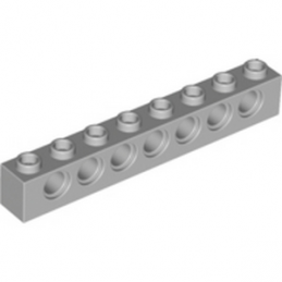 4211442 	TECHNIC BRICK 1X8 - Medium Stone Grey