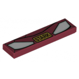 6135223 - Plaque voiture Tony Stark - Iron Man - 1x4