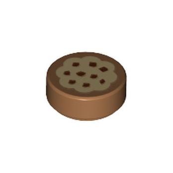 LEGO 6287854 FLAT TILE 1X1 ROUND - IMPRIME