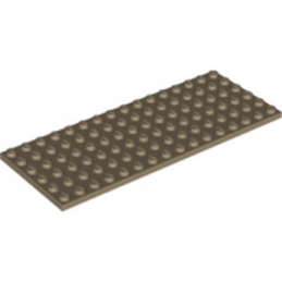 LEGO 6109751 - PLATE 6X16 - Sand Yellow