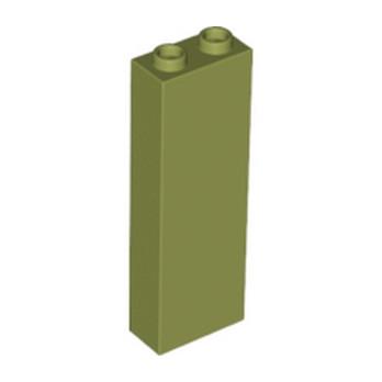 LEGO 6136742 - BRIQUE 1X2X5 - OLIVE GREEN