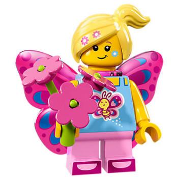 Mini Figurine Lego® Série 17 - la fille papillon