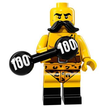 Mini Figurine Lego® Série 17 - l'homme-fort du cirque