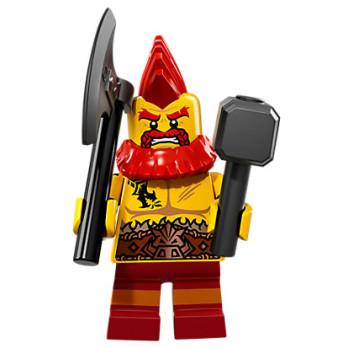 Mini Figurine Lego® Série 17 - le nain de combat