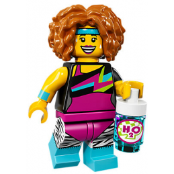 Mini Figurine Lego® Série 17 - le professeur de dance