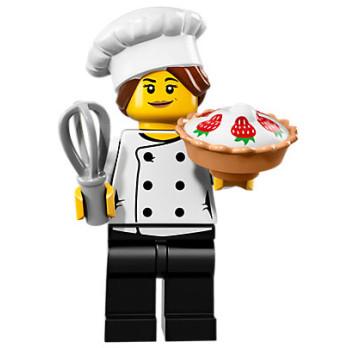 Mini Figurine Lego® Série 17 - le chef gourmet