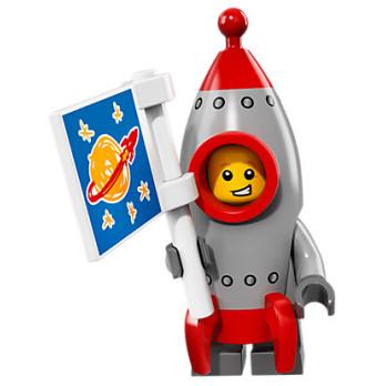 Mini Figurine Lego® Série 17 - le garçon fusée
