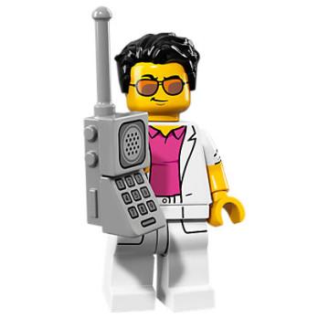 Mini Figurine Lego® Série 17 - le yuppie