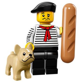Mini Figurine Lego® Série 17 - le connaisseur