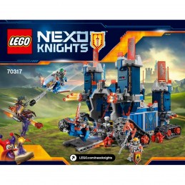 Notice / Instruction Lego Nexo Knight 70317