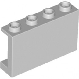 LEGO 6061675 - WALL ELEMENT 1X4X2 - MEDIUM STONE GREY