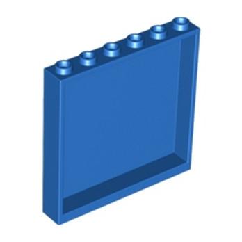 LEGO 6064212 MUR / CLOISON 1X6X5 - BLEU