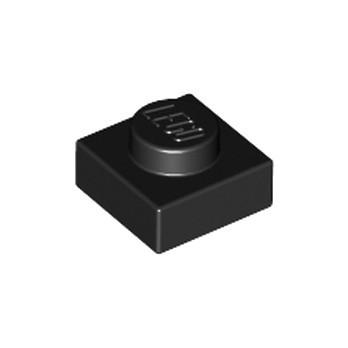 LEGO 302426 PLATE 1X1 - BLACK