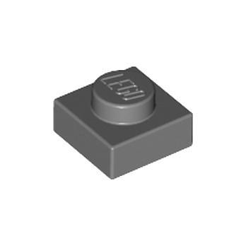 LEGO 4210719 - PLATE 1X1 - DARK STONE GREY