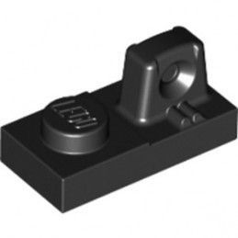 LEGO 4144575 PLATE 1X2 W/STUB/ALONG/UPPER P -  NOIR