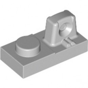 LEGO 6265694 PLATE 1X2 W/STUB/ALONG/UPPER P - MEDIUM STONE GREY