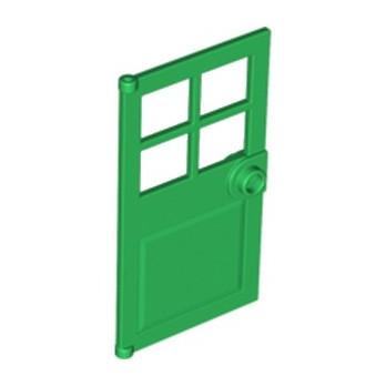 LEGO 4583718 PORTE / FENETRE 1X4X6 - DARK GREEN