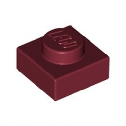 LEGO 4183901 PLATE 1X1 - NEW DARK RED
