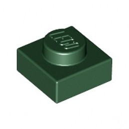 LEGO 4245579  PLATE 1X1 - EARTH GREEN